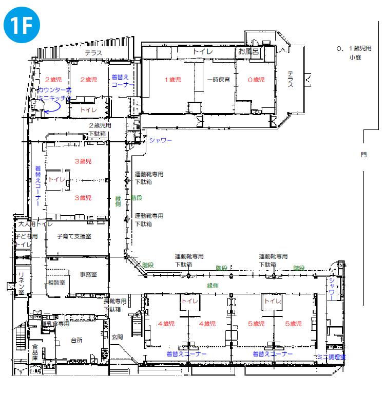 1階施設内マップ