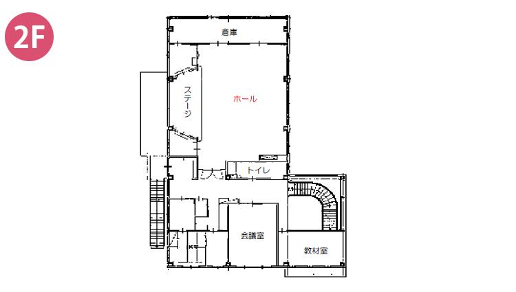 2階施設内マップ